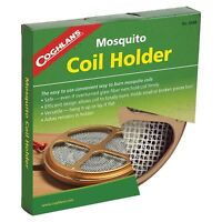 Coghlan's Mosquito Coil Holder Campsite Bug/Insect Repellent Burner Efficient