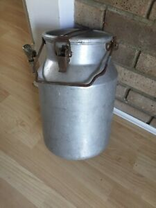VINTAGE MILK CHURN - wedding /  planter / home