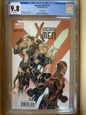 UNCANNY X-MEN #21 CGC 9.8 WHITE Pages Variant Edition by Terry & Rachel Dodson