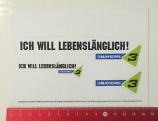 Decal/Sticker: BR-I want life imprisonment Bavaria 3 (120516111)