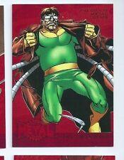 2015 Marvel Fleer Retro Fleer Precious Metal Gems RED 12 Doctor Octopus 097/100