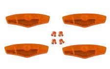 4 x Cat Eye Speichenreflektoren mit Befestigungen 128 x 44mm Speichenstrahler