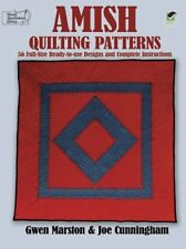 Amish Quilting Patterns: 56 Full-Size Ready-to-Use