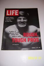 1972 Life Magazine DALLAS Cowboys BOB LILLY No Label ALL PRO TACKLE Tough Pro's
