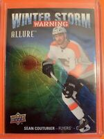2019-20 Upper Deck Allure Winter Storm Warning #WSW-8 Sean Couturier Flyers