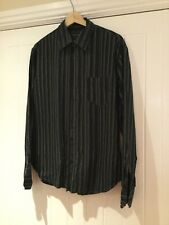 French Connection men's stripe shirt size Medium M     bo1