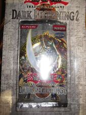 YU-GI-OH! INTROUVABLE BOOSTER EXCLUSIF SOUS BLISTER DARK BEGINNING 2 ANGLAIS