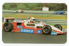 1988 Hungarian Pocket Calendar Advertising Insurance F3 Driver Csaba Kesjar