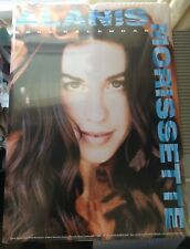 Alanis Morissette Millennial 2000 Calendar, London New 12 by 18 inches Rare New