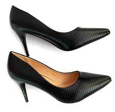 Zapatos Negros Clasicos con tacon para Mujer. Zapatos de tacon mujer