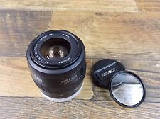 MINOLTA AF ZOOM 35-70mm 1:3.5(22) -4.5 LENS WITH CAPS AND FILTER FOR MAXXUM