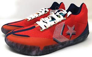 Converse All Star BB Evo Court Daze Low Red Blue Men Basketball Shoes 170761C 9