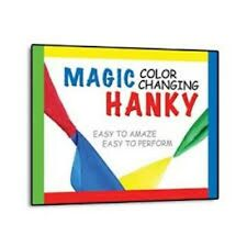 Double Color Changing Hanky Silk Magic Trick  change 2 great magic trick