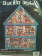 Bucilla Counted Cross Stitch Made in USA Potter's Paradise Country Farmhouse