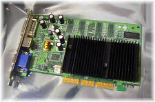 e-Geforce 4 MX4000 128MB DDR AGP Video, Graphics Card, 128-A8-NV95-LX, Passive