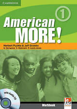 American More! Level 1 Workbook with Audio CD, Lewis-Jones, Peter, Holzmann, Chr