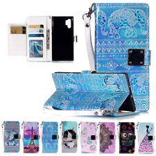 Pattern Wallet Flip Stand Case Cover For Samsung Galaxy Note 10 Plus S10 S9 8 7