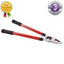 TELESCOPIC ALUMINIUM RATCHET ANVIL LOPPER GARDEN BRANCHES HEDGES CUT EXTENDING