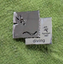 2000 Diving Olympic Sports Metal Badge