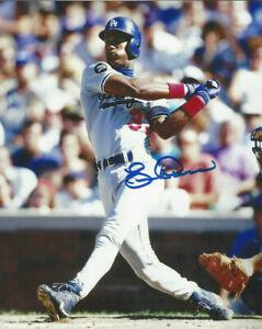 LA Dodgers  2 Time NL All Star Eric Davis  autographed 8x10 great color photo