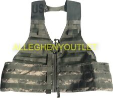 NEW US Military ACU FLC Fighting Load Carrier Tactical Vest Digital Camo MOLLE
