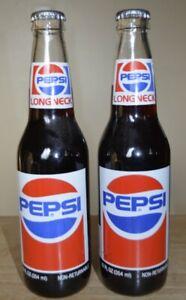 Richard Petty #43 Commemorative Pepsi Longneck 12 oz. Bottles 2 Full Bottles