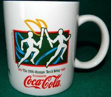 COCA-COLA 1996 OLYMPIC TORCH RELAY, APRIL 29, CALEXICO, CA, COFFEE CUP / MUG