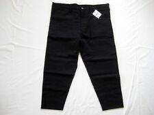 16SS Ganryu Wool Gabardine Tapered Pants Black M Comme Des Garcon Supreme