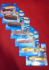 Lot of 7, Mattel Hot Wheels 2005 Muscle Mania 1:64 scale die cast vehicles MIB