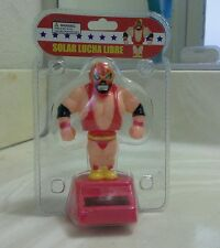 SOLAR POWER DANCING WRESTLING LUCHA LIBRE (with Red outfit)..(●_●).(●_●).