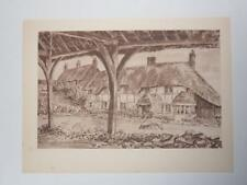 Print The Old Oxyard Oare Wiltshire Vincent Lines RWS