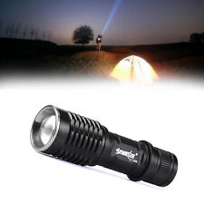Zoomable CREE XML T6 LED 6000LM 3-mode 14500/AA Compact Flashlight Outdoor E506