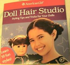 American Girl Doll Hair Studio DVD Shows Styling Tips for Dolls Hard to Find