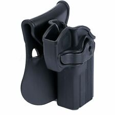 Rotatable Right Hand Paddle Pistol Gun Holster Pouch Cover for Taurus 24/7 OSS