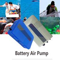 Operated Powerful Increase Oxygen Aquarium Air Pump Aerator Fish Tank Supply