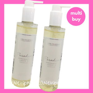 HOTEL COLLECTION Paradise Bergamot Amber Vanilla Hand Wash x2 Duo Aldi