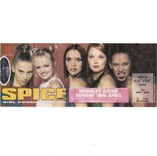 SPICE GIRLS Concert Ticket Stub LONDON UK 4/19/98 WEMBLY ARENA SPICEWORLD TOUR
