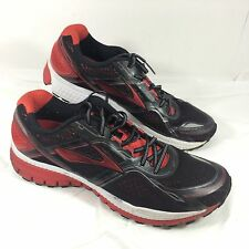 Men's Brooks Running Shoes Black Red Ghost 8th edition Sz 12 M