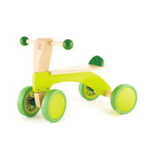 Hape Scoot Around Toddler Children's Wooden Active Ride On Balance Bike Scooter
