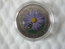 2012 25cent Coloured Coin - Aster and the Bumble Bee