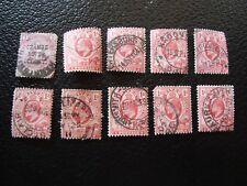 RIVIERE ORANGE - 10 timbres obliteres (tout etat) (A16)