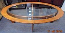 Teak Vintage/Retro Oval Coffee Tables