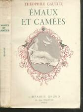 Emaux et camees.Theophile GAUTIER.Grund 1936 CV7