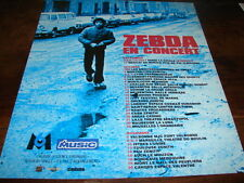 ZEBDA - PUBLICITE EN CONCERT !!!!!!!!!!!!!!