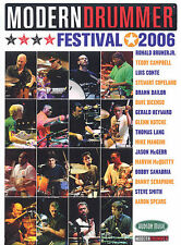 MODERN DRUMMER FESTIVAL 2006 - 4 DVD SET DRUMS DRUM