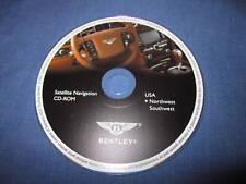 2005 2006 Bentley Flying Spur navigation disc Northwest SUDOESTE