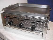 ECO-TECH Grill Gasgrill - Gastrobräter 3-flammig Tischgerät