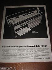 AB11=1968=PHILIPS RADIO REGISTRATORE=PUBBLICITA'=ADVERTISING=WERBUNG=