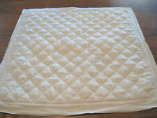 """One POTTERY BARN Belgian Flax Linen Diamond Quilted Sham - 26""""x 26"""""""