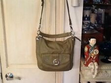STONE MOUNTAIN Leather Town & Country Denim Cross Body Handbag